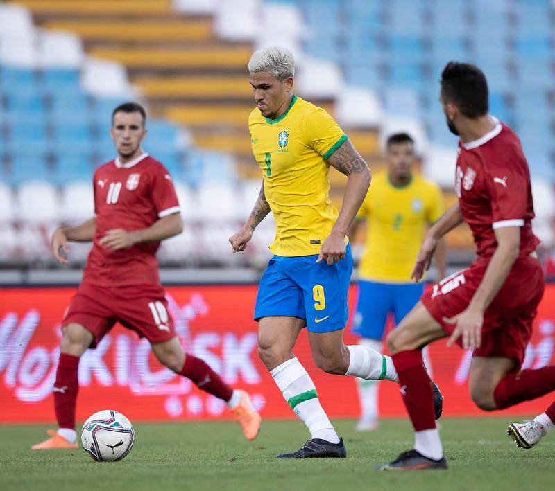 Pedro também não deve ser liberado para a seleção olímpica. Foto: Ricardo Nogueira/CBF