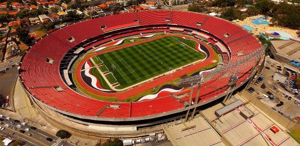 O estádio do Morumbi vai receber a sua última partida do São Paulo nesta temporada