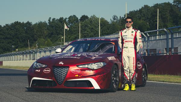 Brasileiro competirá com modelo Alfa Romeo Giulia 100% elétrico. Foto: Divulgação/Romeo Ferraris