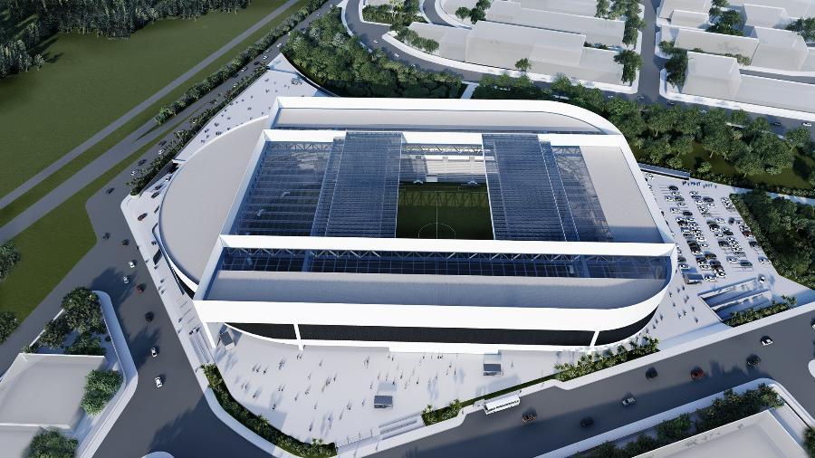Ponte divulgou projeto de nova arena em Campinas