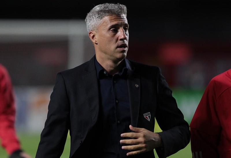 """Treinador são-paulino ganhou respaldo do cartola, que pediu """"foco no trabalho"""". Foto: Rubens Chiri/saopaulofc.net"""