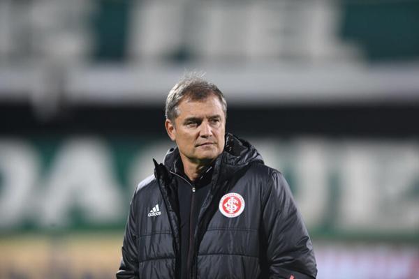 Treinador colorado ficou satisfeito com o desempenho de sua equipe. Foto: Divulgação/Inter