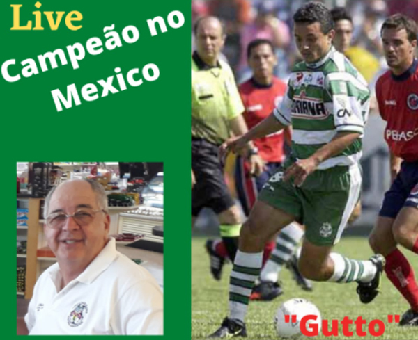Ex-jogador participa do programa com o treinador brasileiro