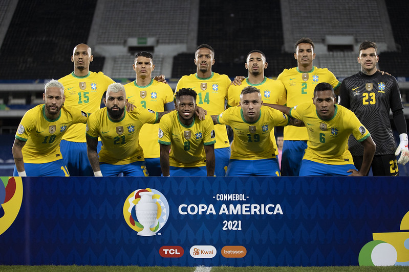 Para mim, o time de Tite está pelo menos no top-7 do futebol atual. Foto: Lucas Figueiredo/CBF