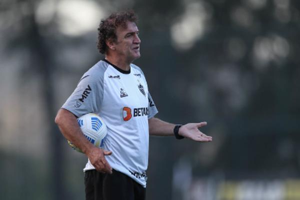 Cuca comanda o time mineiro nesta quinta-feira. Foto: Pedro Souza/Atlético-MG