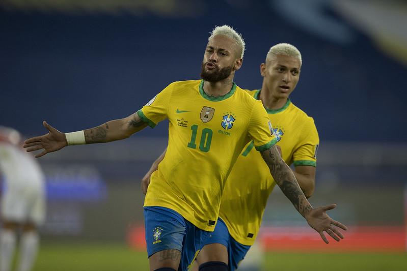 Seleção brasileira encara o Chile nas quartas de final da competição. Foto: Lucas Figueiredo/CBF