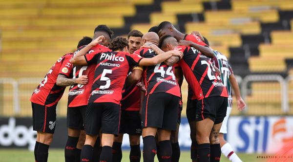 Equipe paranaense vem de ótima vitória. Foto: Gustavo Oliveira/Athletico
