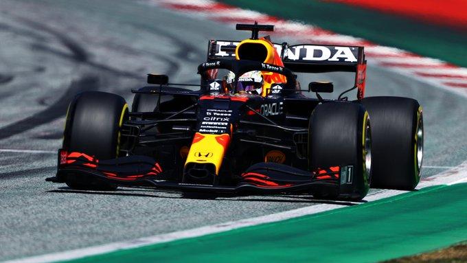 Holandês parte da posição de honra pela quarta vez na temporada. Foto: Red Bull Racing Honda