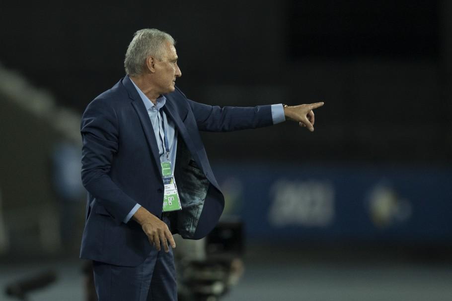 Treinador falou sobre a vitória que classificou o Brasil na Copa América. Foto: Lucas Figueiredo/CBF