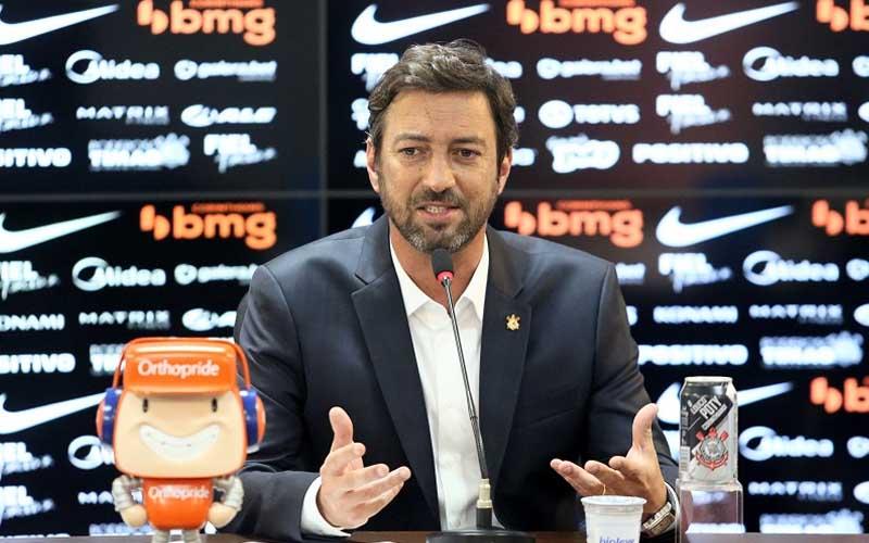 Duílio Monteiro Alves, presidente do Timão. Foto: Rodrigo Coca/Ag. Corinthians