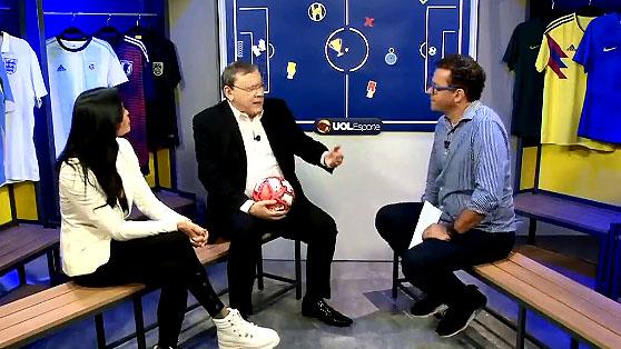 Jornalista participou do programa apresentado por Fernado Rocha ao lado de Alline Calandrini