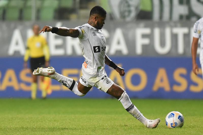 Peixe não vence há dois jogos e tenta se aproximar do G4. Foto: Ivan Storti/Santos FC