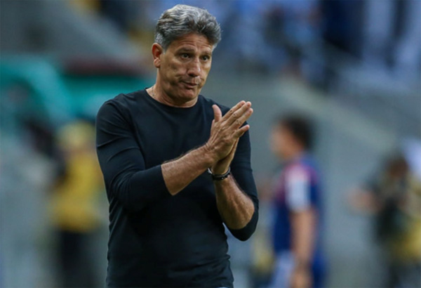 Demitido do clube em abril, Renato Gaúcho teve seu nome ventilado para substituir Tiago Nunes. Foto: Lucas Uebel/Grêmio FBPA
