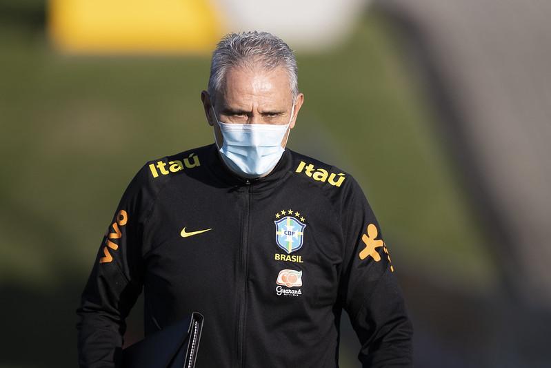 Treinador brasileiro ainda elogiou as condições do gramado do Maracanã. Foto: Lucas Figueiredo/CBF