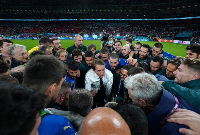 Ele comandará sua seleção na final da Eurocopa, contra a Inglaterra. Foto: Divulgação/FIGC