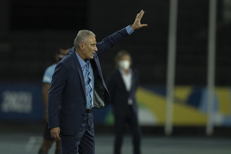 Treinador brasileiro criticou a organização do torneio no Brasil. Foto: Lucas Figueiredo/CBF