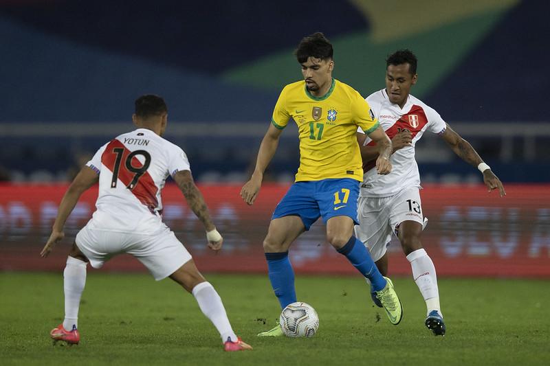 Meia do Lyon marcou dois gols e ganhou muito espaço no time de Tite durante a Copa América. Foto: Lucas Figueiredo/CBF
