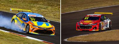 Duas corridas movimentadas no oeste do Paraná. Fotos: Divulgação/Carsten Horst e José Mário Dias