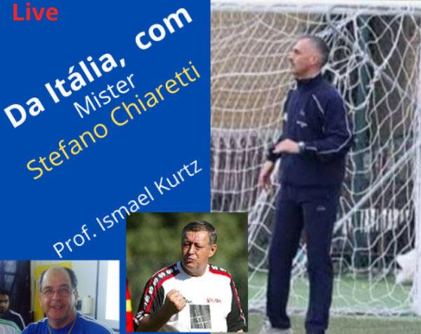 Profissional participa do programa com o treinador brasileiro