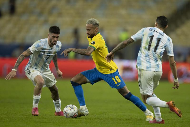 Equipe verde e amarela tem recebido duras críticas após derrota para a Argentina na Copa América. Foto: Lucas Figueiredo/CBF