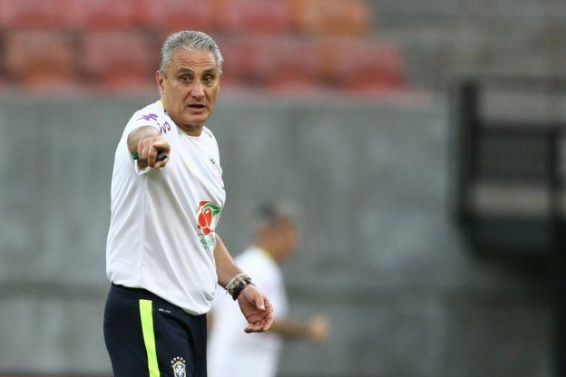 Tite, técnico da seleção brasileira. Foto: Lucas Figueiredo/CBF