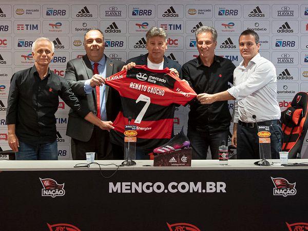 Treinador do Fla se disse favorável à volta de público aos estádios. Foto: Alexandre Duarte/Flamengo
