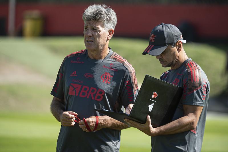 Rubro-Negro Carioca fará seu primeiro jogo sob o comando do novo treinador. Foto: Alexandre Vidal/Flamengo