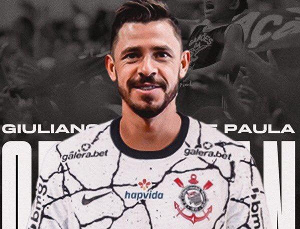 Giuliano, primeiro reforço do Corinthians para a temporada. Foto: Divulgação