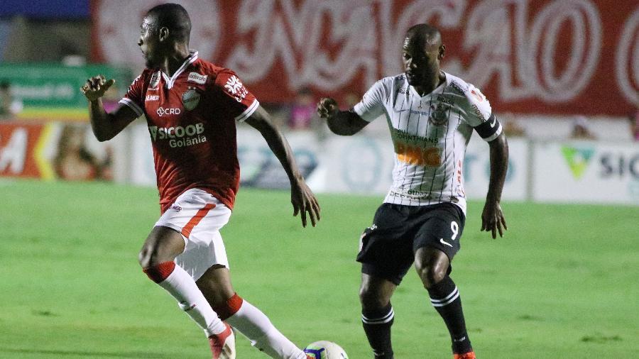 Equipe alvinegra enfrentou o Vila Nova em Goiás. Foto: Heber Gomes/AGIF/via UOL