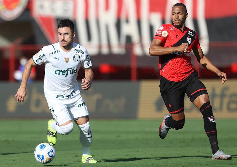 Willian, atacante do Palmeiras. Foto: Cesar Greco/Ag. Palmeiras