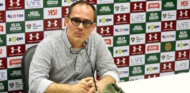Pedro Abad, presidente do Fluminense, nega que irá renunciar ao cargo